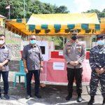 Kapolres Lingga Pantau Langsung Kegiatan TPS Pilkades serentak di Kabupaten Lingga