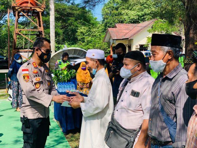Syukuran Dalam Rangka Hari Lalu Lintas Bhayangkara Ke 66 di Polres Natuna