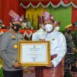 Kapolda Kepri Hadiri Rangkaian Kegiatan Peringatan Hari Jadi Provinsi Kepri ke 19 Tahun