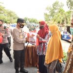 Acara Puncak Kegiatan Vaksinasi Massal, Bansos dan Launching Transformasi Digital UMKM Presisi Alumni Akabri 96 Bharatasena
