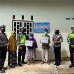 Dalam Rangka HUT Lalu Lintas Ke-66, Satlantas Polres Lingga Gelar Bakti Sosial
