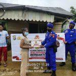 Ratusan Paket Sembako Bantuan Sosial Dari Alumni Akpol 97 Sampai Di Ujung Perbatasan Utara Indonesia