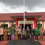 Kapolres Bintan Silaturahmi Bersama NU Bintan Dan GP Ansor Bintan
