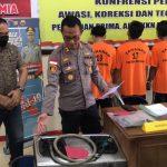 Polres Natuna Berhasil Ringkus 3 Orang Pelaku Pencuri Tabung Gas 12 Kg di Natuna