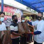 Kunjungan Kapolda Kepri Dalam Rangka Kegiatan Pengandian 33 Tahun TNI-POLRI AKABRI 89 di Wilayah Kab Bintan