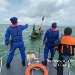Nelayan hilang kontak dilaut, Satpolairud Polres Karimun berhasil menemukannya