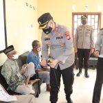 Kapolres Lingga Bersama Personil Polres Lingga Angkatan 47 WSW Lakukan Bhakti Sosial