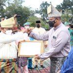 HUT Kabupaten Karimun ke-22, Polres  Karimun Terima Penghargaan penanganan Covid-19 dan Vaksinasi Presisi